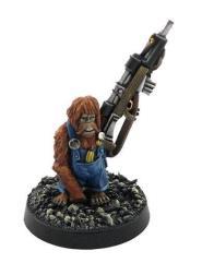 Orangutan w/Sniper Rifle