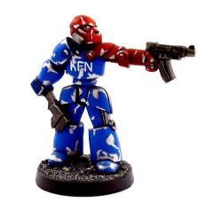 Servo Droid w/Spit Gun