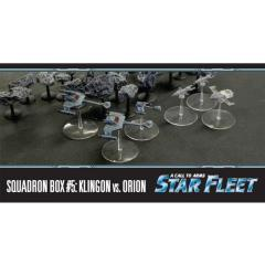 Squadron Box #5 - Klingon vs. Orion