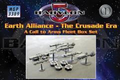 Earth Alliance Fleet Box - The Crusade Era (1st Edition)