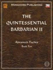 Quintessential Barbarian II, The - Advanced Tactics