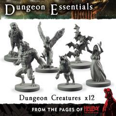 Hellboy - Dungeon Creatures