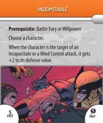 Feat Card - Indomitable
