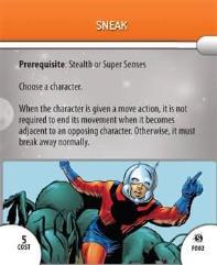 Feat Card - Sneak