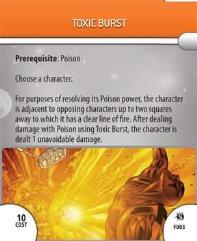 Feat Card - Toxic Burst