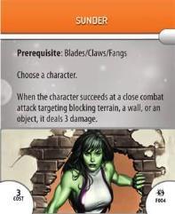 Feat Card - Sunder