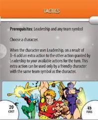 Feat Card - Tactics