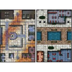 Mighty Maps #2 - Hall of Heroes/Covered Bridges Plaza