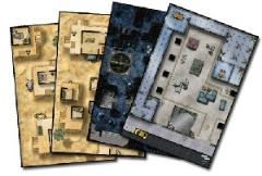 Mighty Maps #3 - The Warehouse/Vigilantes Lair/Desert Village