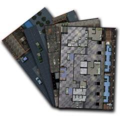 Mighty Maps #5 - Doom Village Set/Subway Station/Resistance HQ