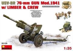 USV-BR 76mm Gun Model 1941 w/Limber & Crew