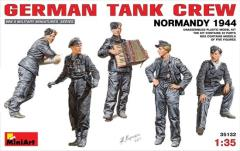German Tank Crew - Normandy 1944