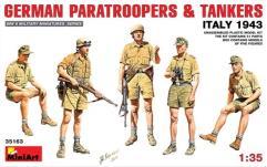 German Paratroopers & Tankers - Italy 1943