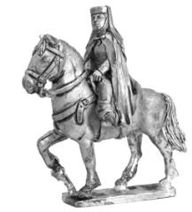 Medieval Lady on Horse