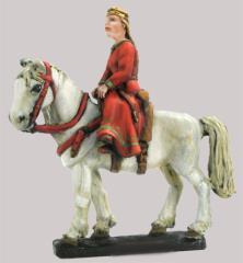 Noble Girl on Horseback