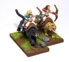 Cat Riders w/Bow