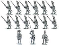 Hungarian Fusiliers 1796-1798