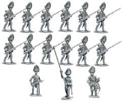 Hungarian Grenadiers w/Command 1809-1815