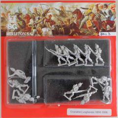 Hungarian Grenadiers w/Command 1850-1866 - Attack March