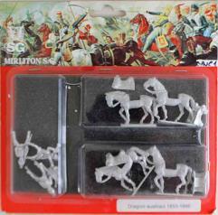 Austrian Dragoons 1850-1866 - Walking