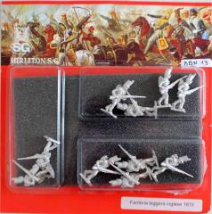 English Light Infantry 1815 - Attack March