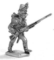 British Riflemen Attack March