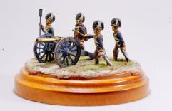 British Royal Horse Artillery - 9 lb. Cannon w/Crew