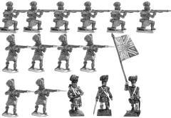 Highlander Infantry 1815 Firing