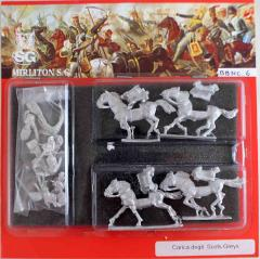 Scots Greys w/Command - Charging
