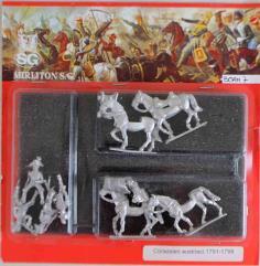 Austrian Curaissiers w/Command 1791-1798 - Walking