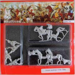 Austrian Hussars 1798-1806 - Walking