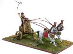 Etruscan Chariot w/Lars Porsenna, King of Chiusi