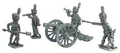 French Guard 8 lb. Cannon w/Crew 1812