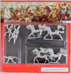 Carabineers w/Command 1810-1815 - Charging