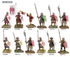 Commune Wars - Infantry, Standing 1200-1330