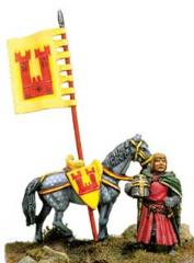 Dismounted Knight w/Horse
