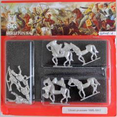 Prussian Hussars w/Command 1805-1807 - Walking