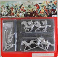 Piedmontese Heavy Cavalry in Campaign Uniform - Galloping