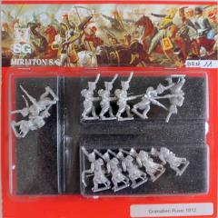 Russain Grenadiers w/Greatcoats - Attack March