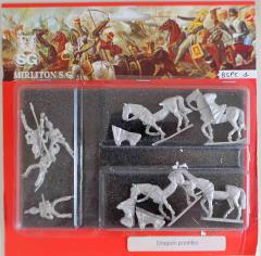 Papal State Dragoons w/Command in Half Step