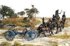Italian Horse Drawn Artillery