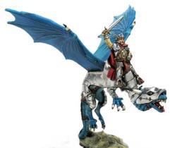 Paladin on Armored Dragon