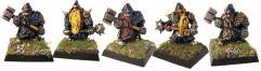 Dwarves w/Maces & Warhammers