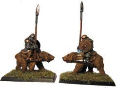 Bear Riders w/Spear