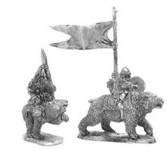 Bear Riders w/Spear Command