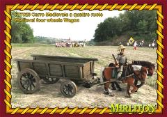 Medieval 4 Wheeled Wagon