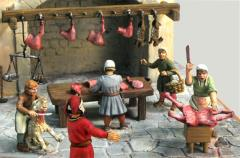 Medieval Mutton Seller