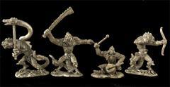 Lizardman Iguanids Command