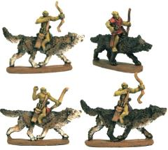 Wolf Riders w/Bow
