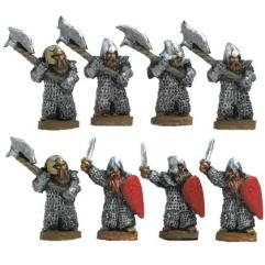 Dwarf Warriors w/Mixed Weapons & Shield